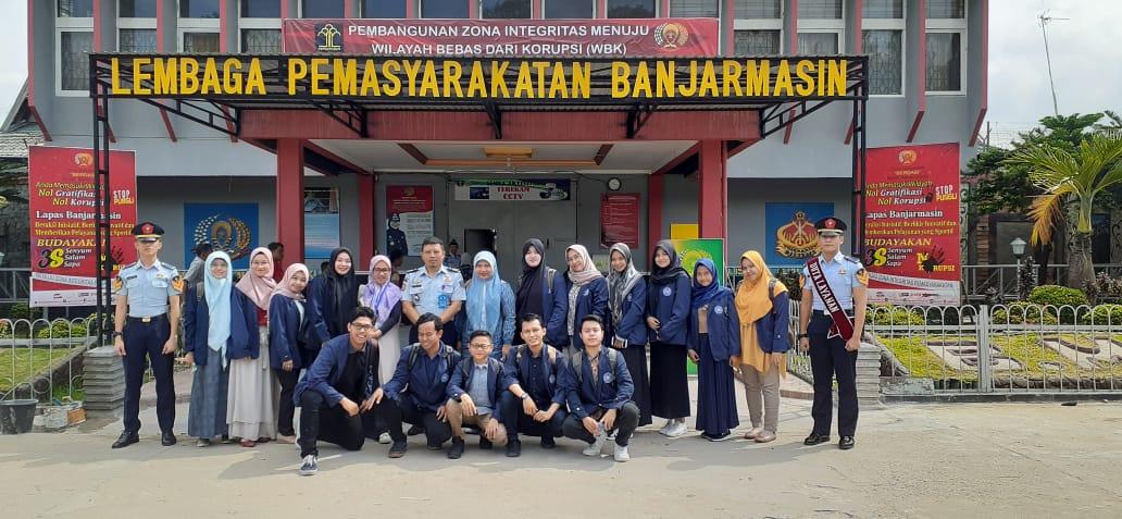Kuliah Lapangan Psikologi Forensik di Lapas Klas II A Banjarmasin