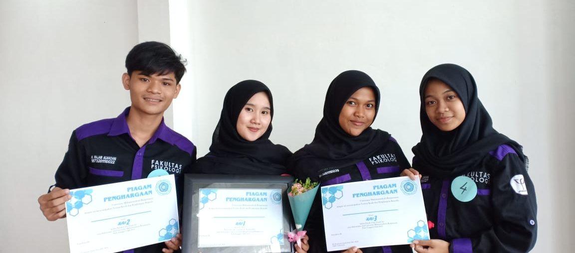 Mahasiswa Psikologi Sabet Tiga Gelar Juara pada Seleksi Internal PCTA dan PSM UMB