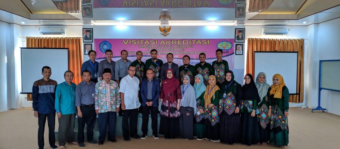 Visitasi Akreditasi Prodi S1 Psikologi UM Banjarmasin
