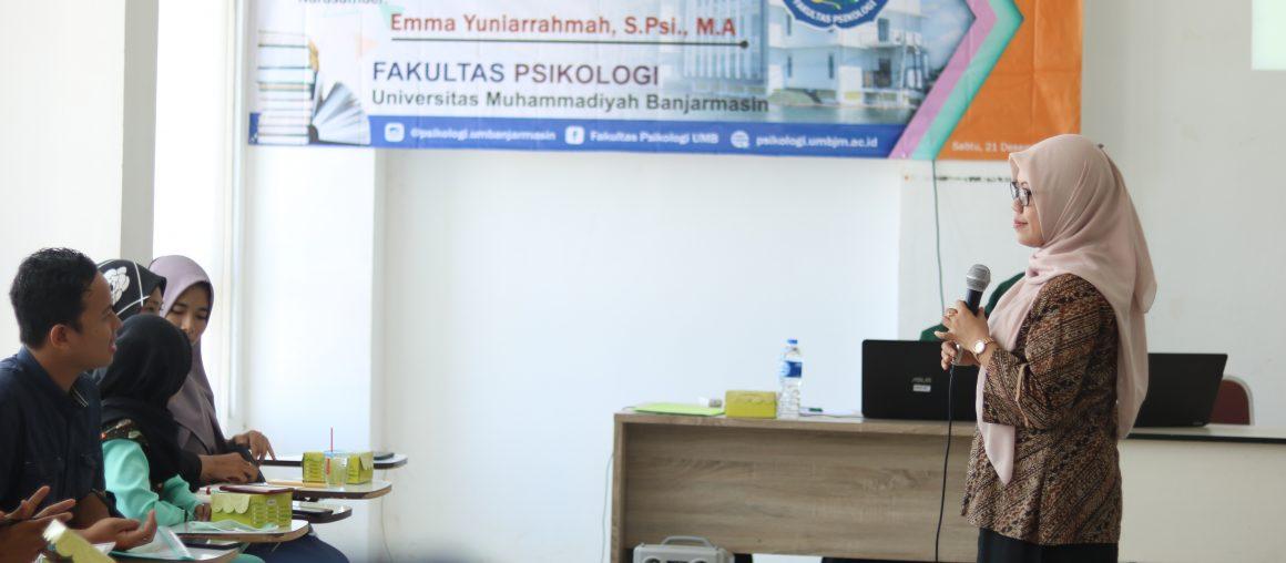 Workshop Penulisn Skripsi Fak Psikologi UMB