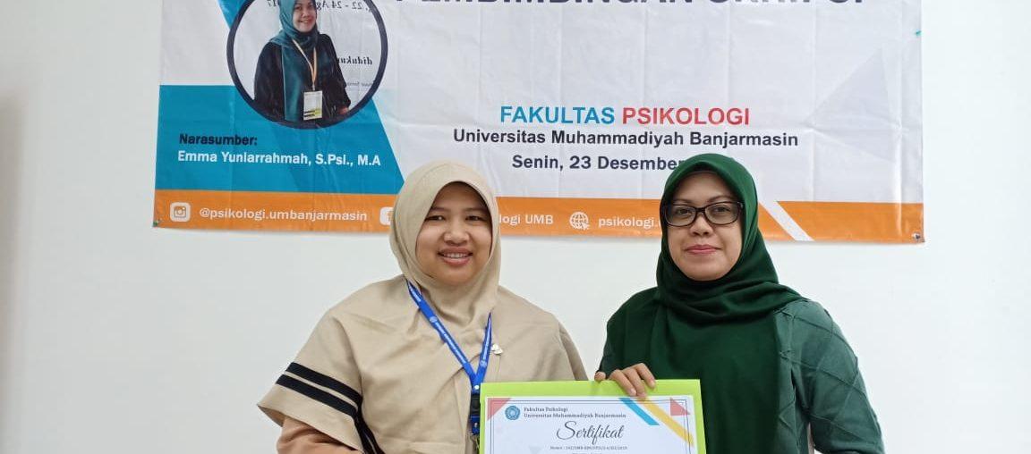 Workshop Pembimbingan Skripsi Dosen Fak Pikologi UM Banjarmasin