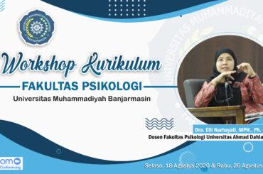 Workshop Kurikulum Fakultas Psikologi UM Banjarmasin