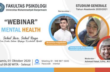 Studium Generale Tahun Akademik 2020/2021