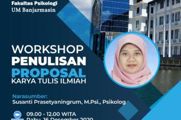 Workshop Penulisan Proposal Karya Tulis Ilmiah