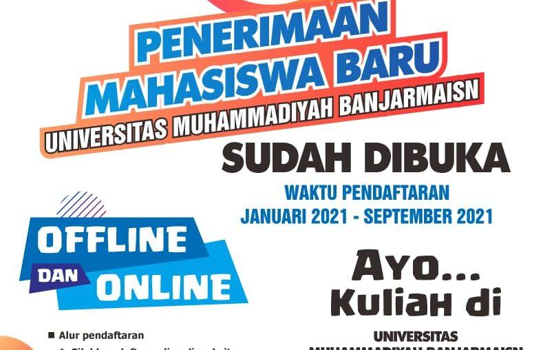 Pendaftaran Mahasiswa Baru Fak. Psikologi UM Banjarmasin