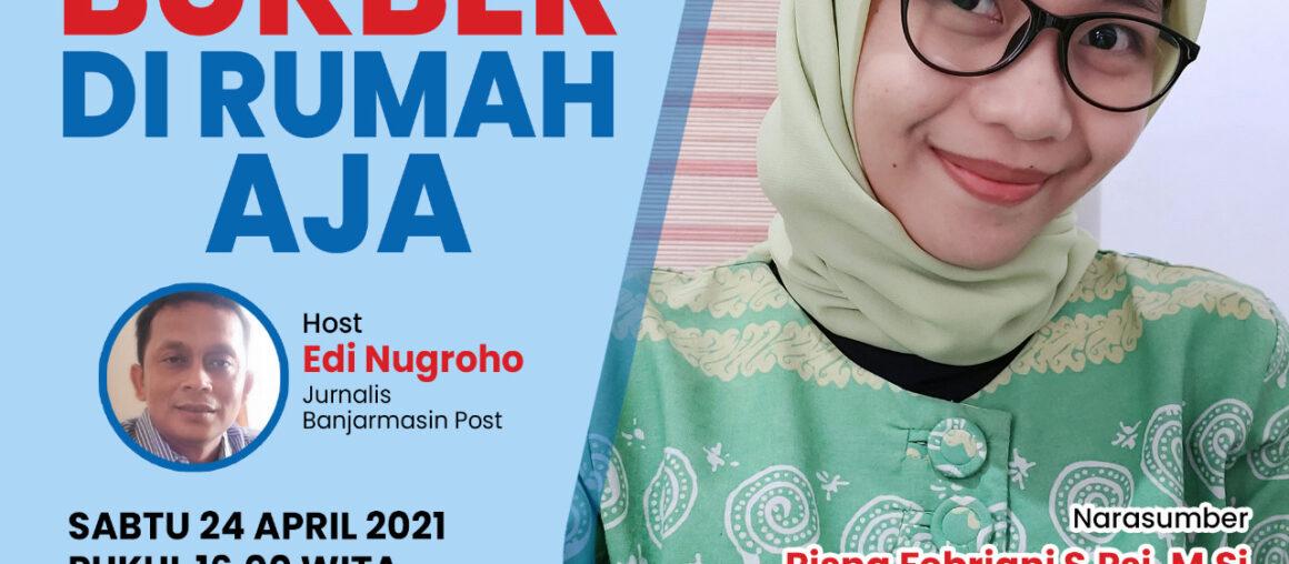 Dosen Fak Psikologi UM Banjarmasin Menjadi Narasumber B-Talk