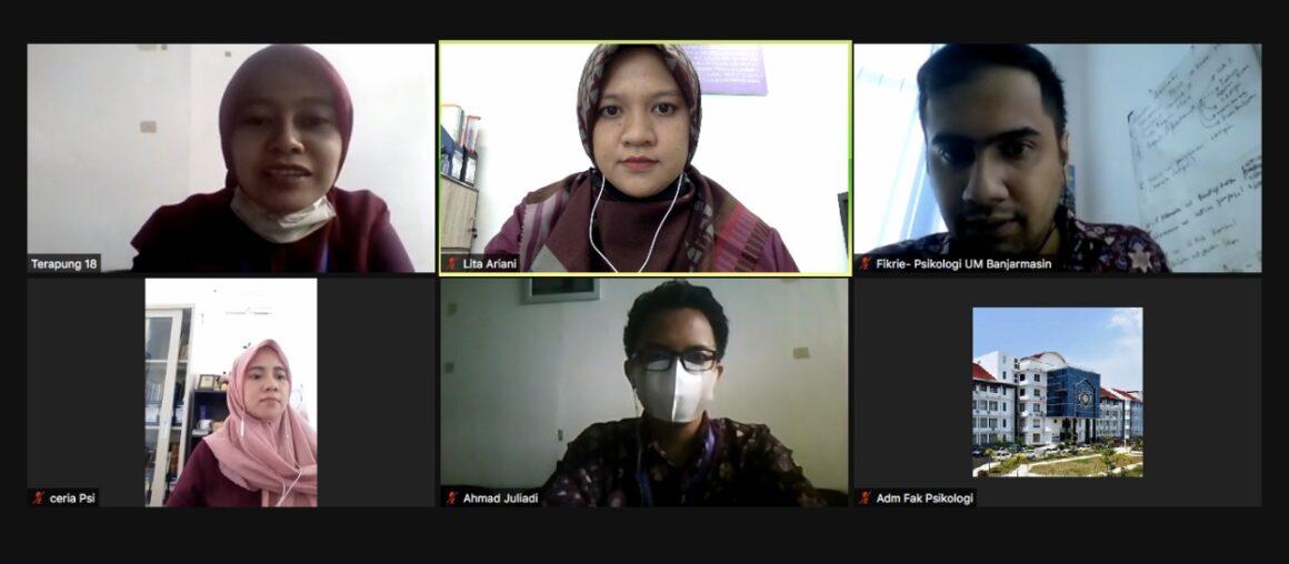 Monev Prodi S1 Psikologi UM Banjarmasin, Semester Ganjil 2020/2021