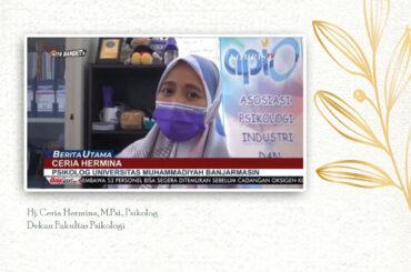 Dekan Fakultas Psikologi UM Banjarmasin, Mengomentari Tentang Fenomena Manusia Gerobak Di Banjarmasin
