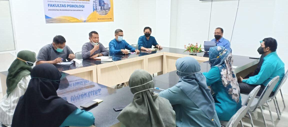 Arahan dan Instruksi Rektor UM Banjarmasin ke Fak Psikologi